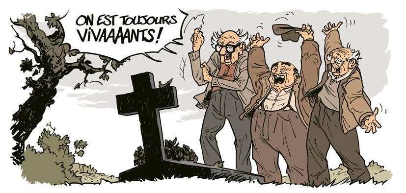 JAMAIS ASSEZ VIEUX POUR FAIRE CHIER LE MONDE!
